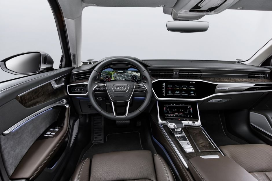 Audi a6 2018 infos et avis sur la nouvelle a6 berline for Audi 80 interieur