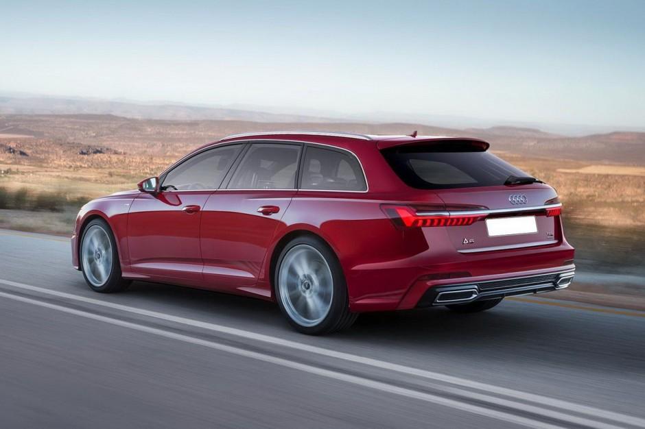 Audi A6 Avant 2018 Premi 232 Res Infos Sur Le Nouveau Break A6 Photo 1 L Argus
