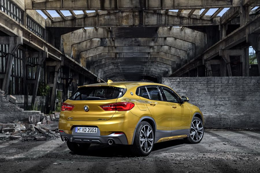bmw x2 2018 infos photos prix et technique du suv coup de bmw photo 19 l 39 argus. Black Bedroom Furniture Sets. Home Design Ideas