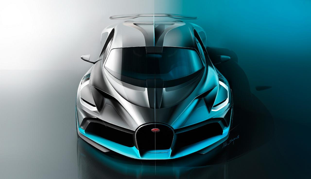 Bugatti Divo Pour Les Blases De La Chiron