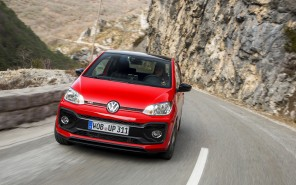volkswagen up gti rouge vue avant