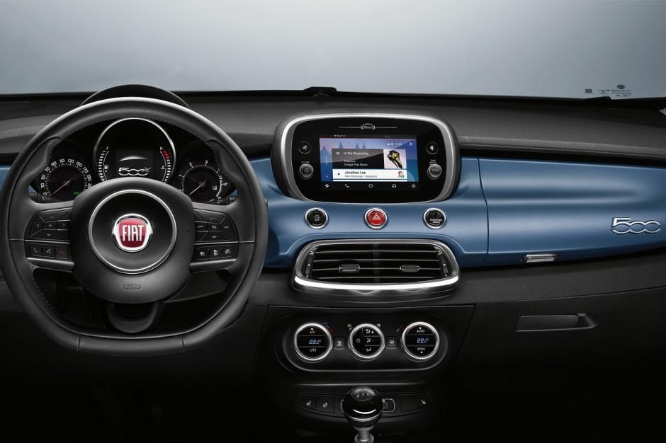 Fiat 500 500x 500l nouvelle s rie sp ciale mirror en for Interieur 500x