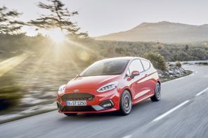 ford fiesta st rouge 2018
