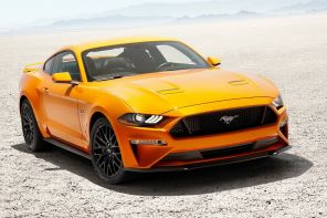 ford mustang 2018 jaune