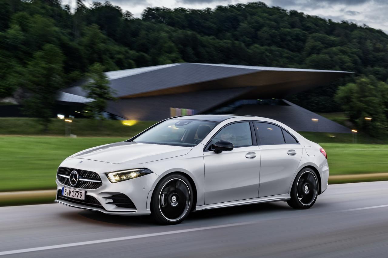 Mercedes Classe A Berline 2018 : ne l'appelez plus CLA Coupé