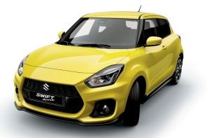 face avant suzuki swift sport 2017