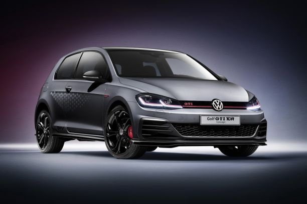 volkswagen golf gti tcr concept 2018 une golf chapp e d 39 un circuit l 39 argus. Black Bedroom Furniture Sets. Home Design Ideas