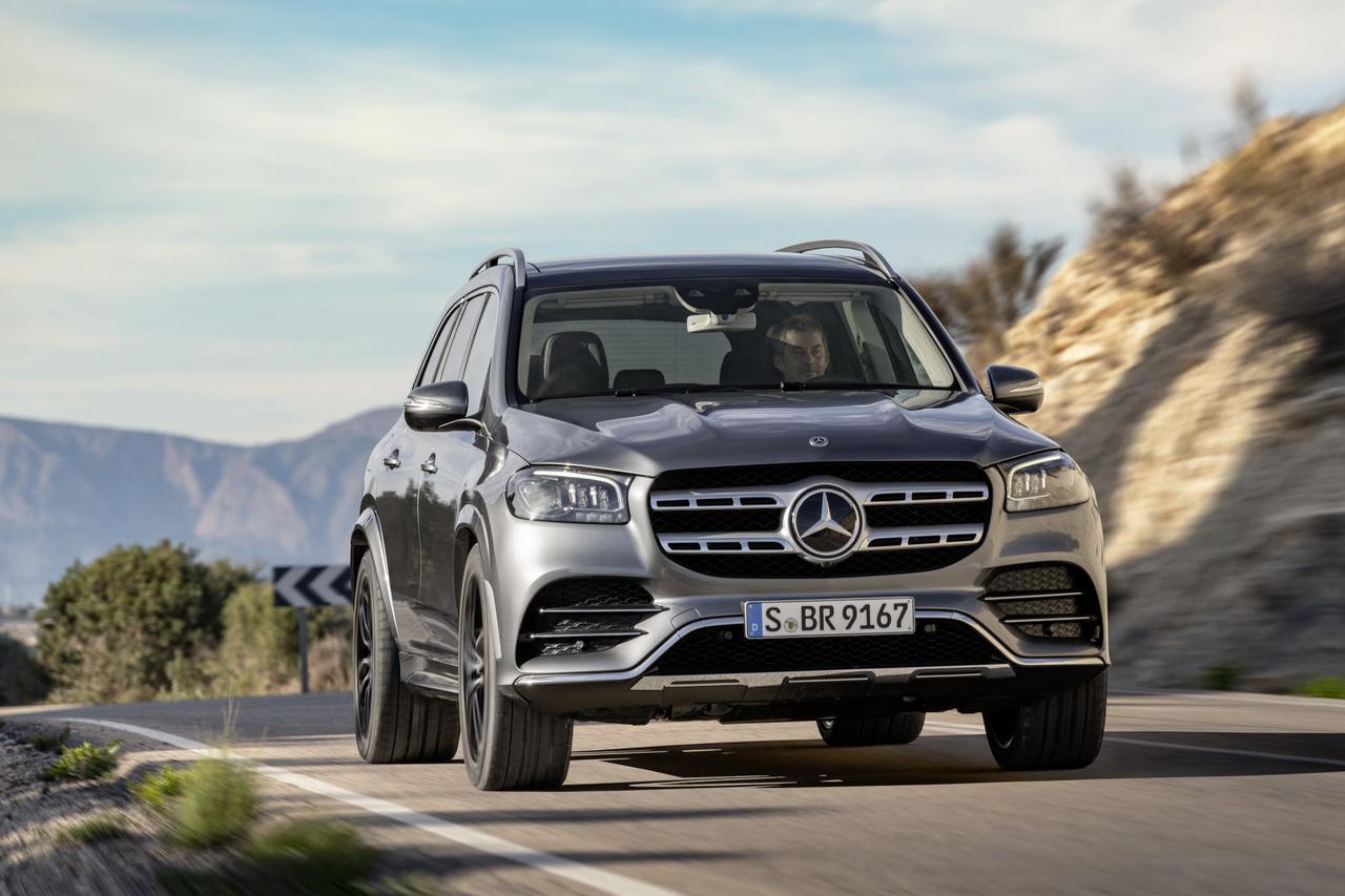 Mercedes Gls 2019 Infos Et Photos Du Luxueux Suv A 7 Places