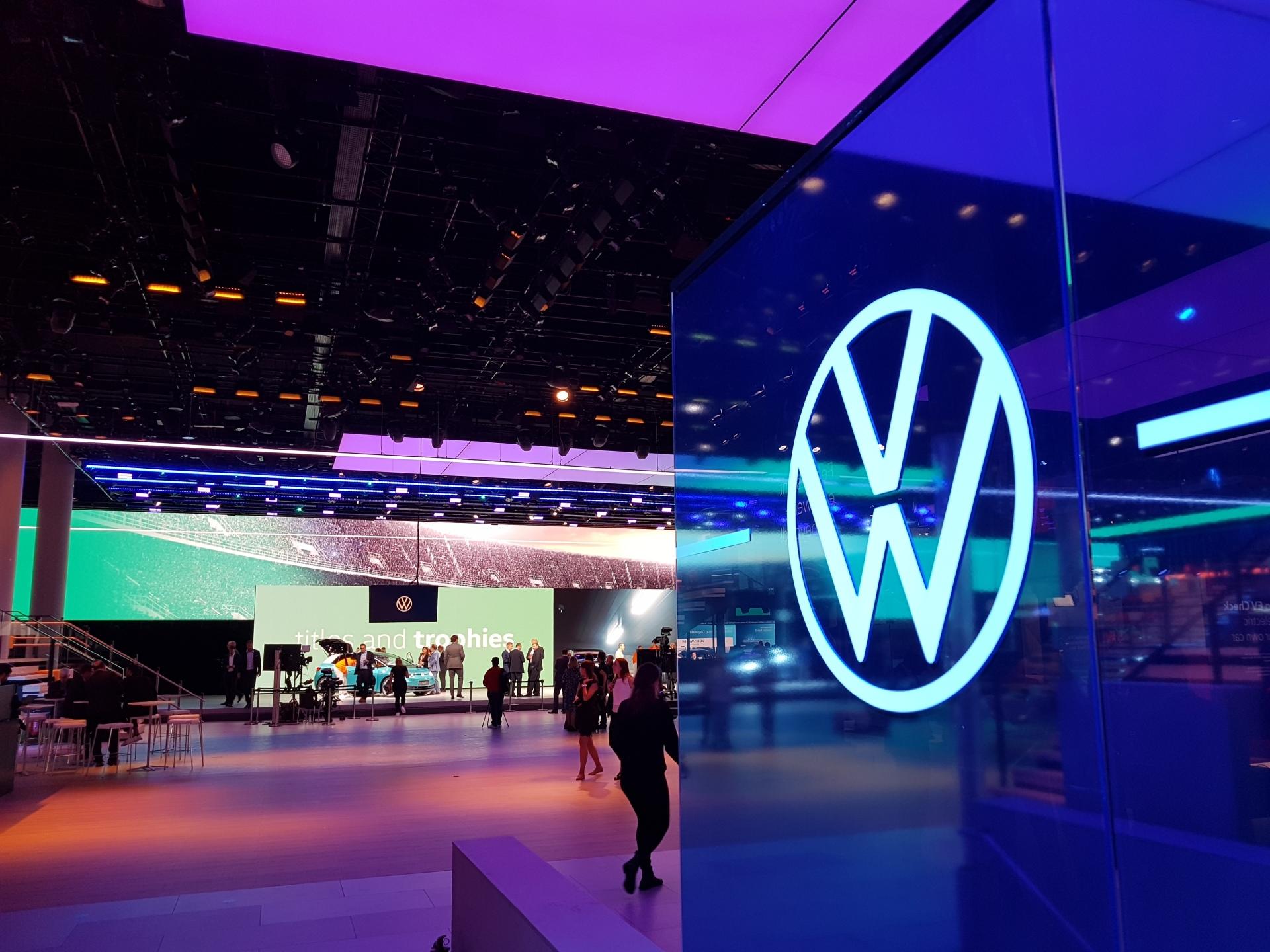 Un nouveau logo pour Volkswagen au salon de Francfort 2019