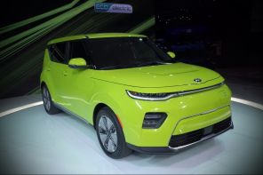 kia soul ev 2019 salon los angeles 2018