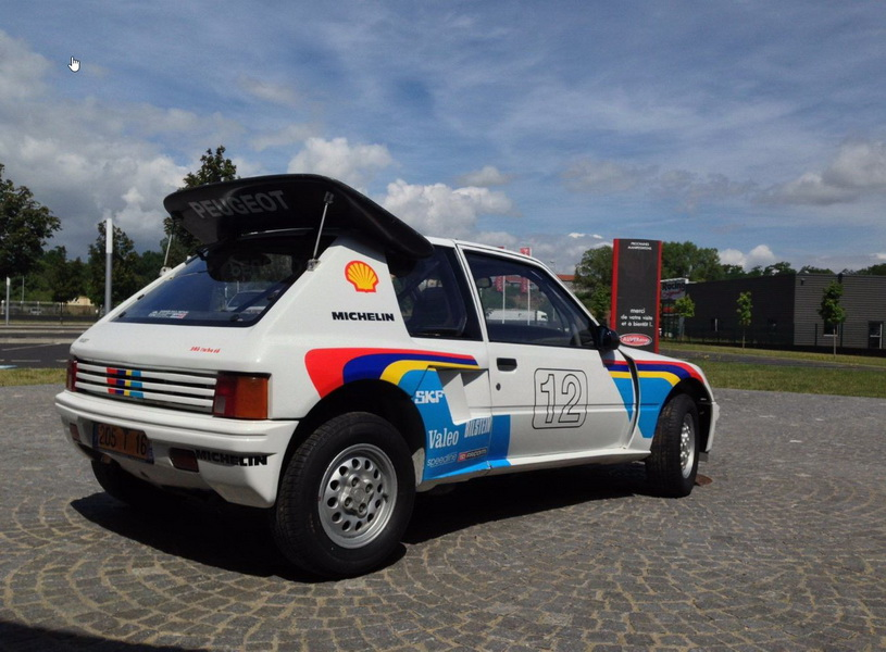r tromobile 2017 les sportives fran aises aux ench res peugeot 205 turbo 16 1985 estimation. Black Bedroom Furniture Sets. Home Design Ideas
