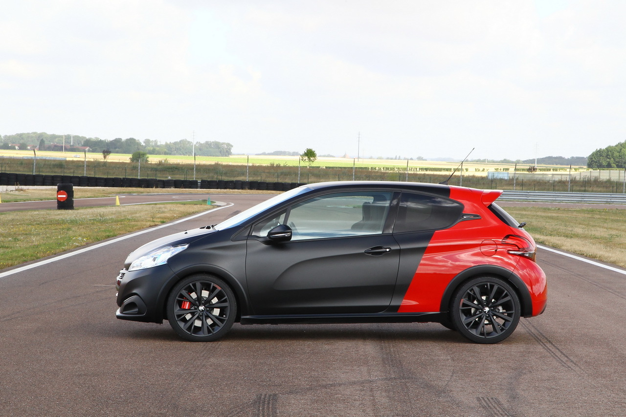 essai comparatif renault clio rs trophy vs 208 gti by. Black Bedroom Furniture Sets. Home Design Ideas
