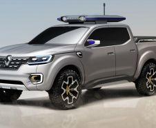 Renault Alaskan pick-up show truck vue avant