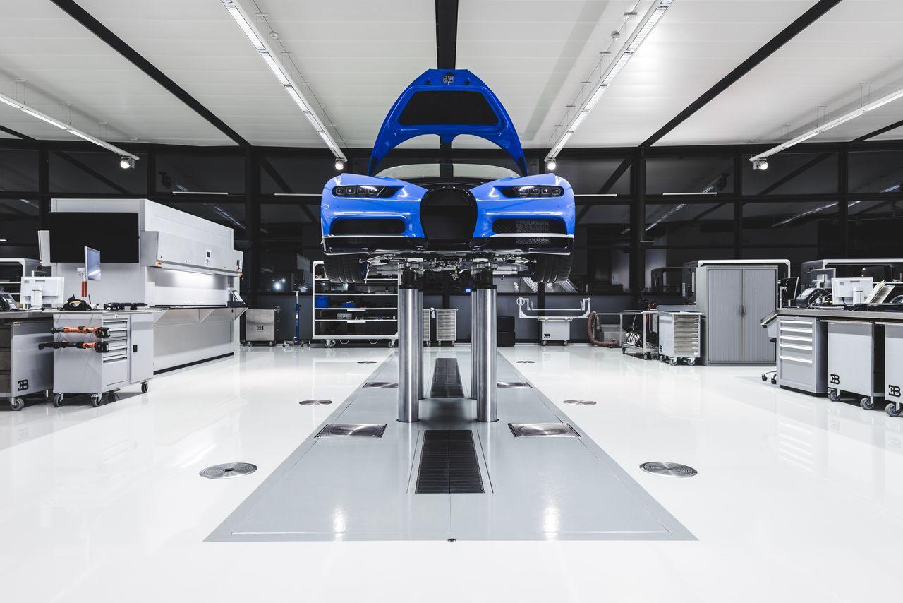 usine de bugatti – idée d'image de voiture