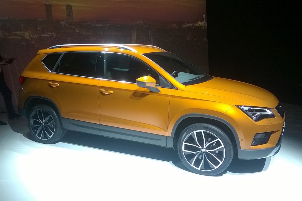 seat ateca photos et informations officielles du premier suv de seat seat auto evasion. Black Bedroom Furniture Sets. Home Design Ideas