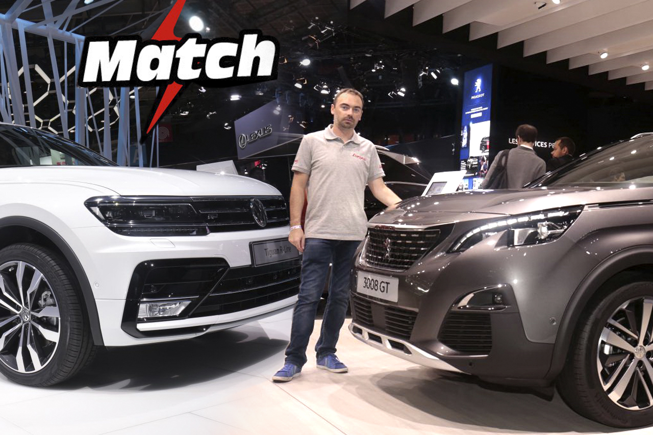 peugeot 3008 vs volkswagen tiguan le match en images peugeot 3008 vs volkswagen tiguan l 39 argus. Black Bedroom Furniture Sets. Home Design Ideas