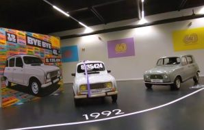 Renault 4 exposition