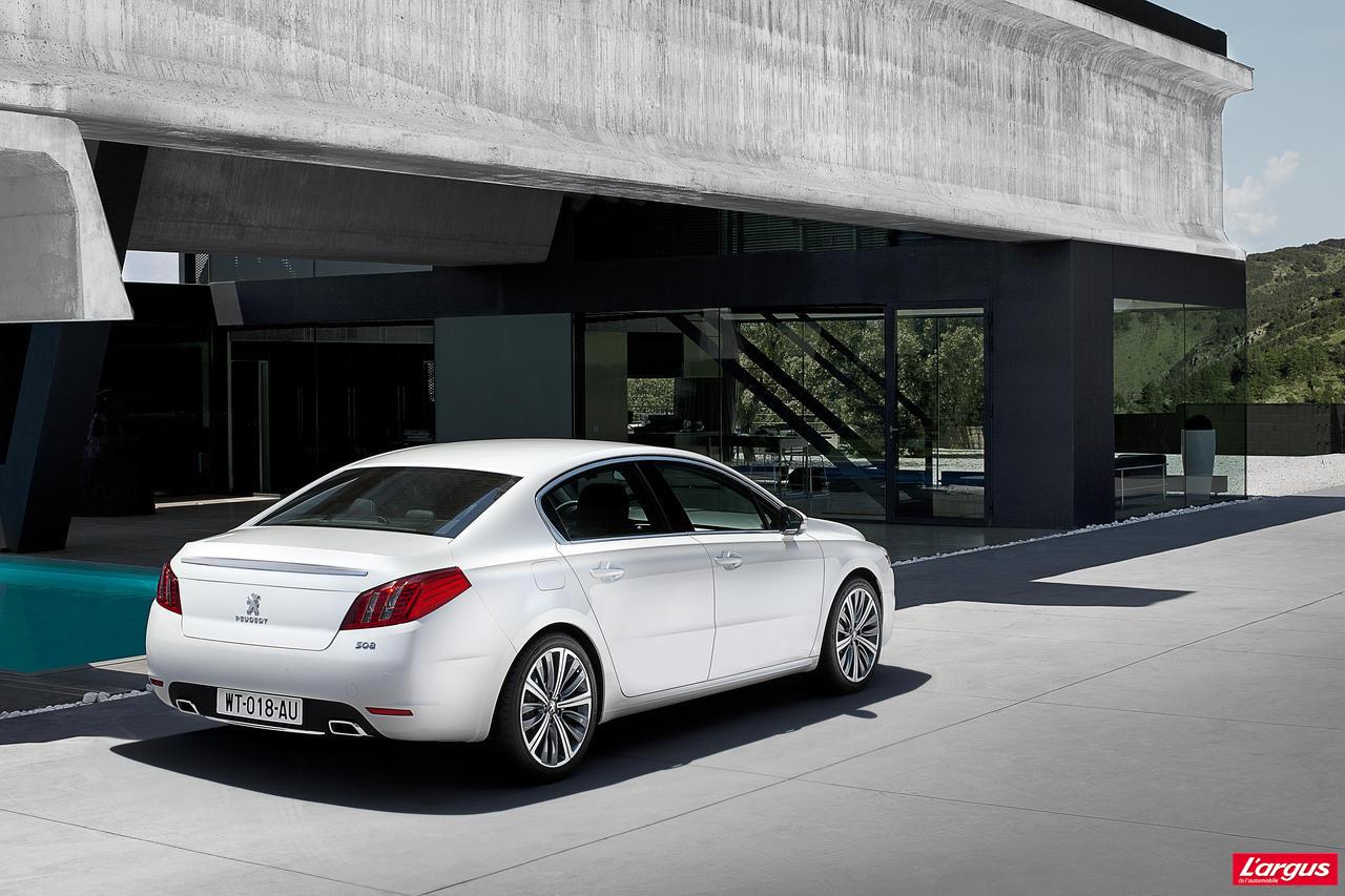 Peugeot 508 Tarifs Officiels Et Photos Inedites Salon De L Auto 2010
