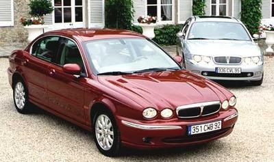 jaguar x type 2 5 rover 75 2 5 les belles anglaises sont de retour l 39 argus. Black Bedroom Furniture Sets. Home Design Ideas