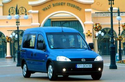Vauxhall combo amortisseurs avant /& arrière neuf x 4