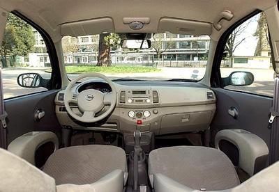 Nissan micra 1 4 citro n c3 1 4 elles ont bien grandi for Interieur nissan micra 2000