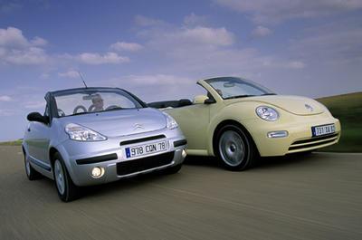 citro n c3 pluriel vw beetle cabriolet les starlettes de l 39 t volkswagen auto evasion. Black Bedroom Furniture Sets. Home Design Ideas
