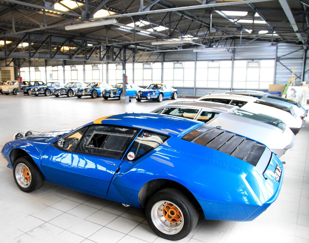 Top Alpine Renault : photos de l'incroyable collection Rédélé - L'argus GB15