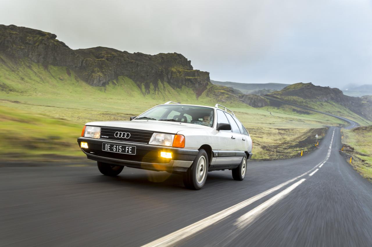 Audi 100 Avant 1984 vs Audi A6 Avant 2014 : c'était mieux ...