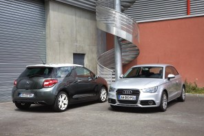 Comparatif : Audi A1 contre Citroën DS3