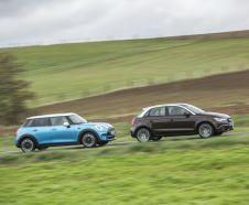 Essai comparatif : Mini Cooper 5 portes vs Audi A1 Sportback