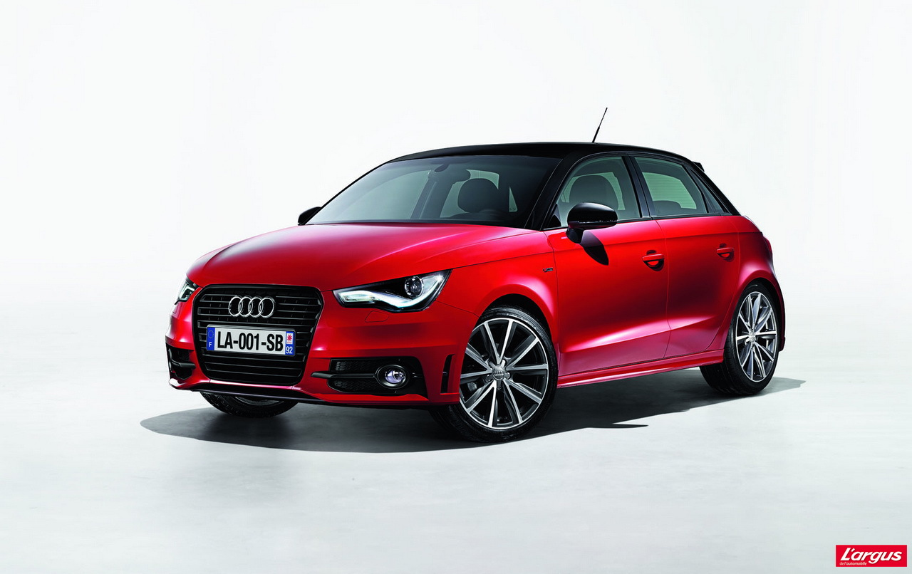 audi a1 urban sport une s rie limit e 1200 exemplaires en france l 39 argus. Black Bedroom Furniture Sets. Home Design Ideas