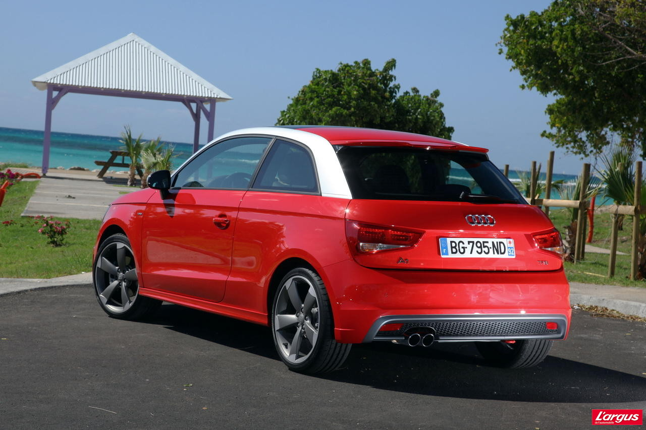 essai audi a1 tfsi 185 ch s tronic ambition 2011 photo 13 l 39 argus. Black Bedroom Furniture Sets. Home Design Ideas
