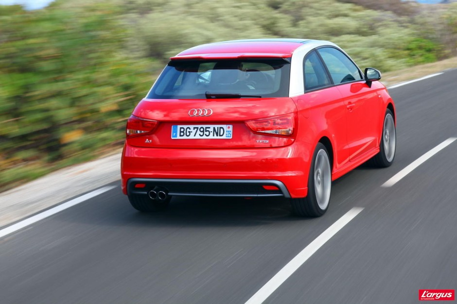 essai audi a1 tfsi 185 ch s tronic ambition 2011 photo 19 l 39 argus. Black Bedroom Furniture Sets. Home Design Ideas