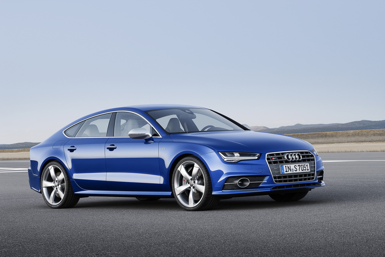 audi a7 sportback 2014 les photos de la version restyl e l 39 argus. Black Bedroom Furniture Sets. Home Design Ideas