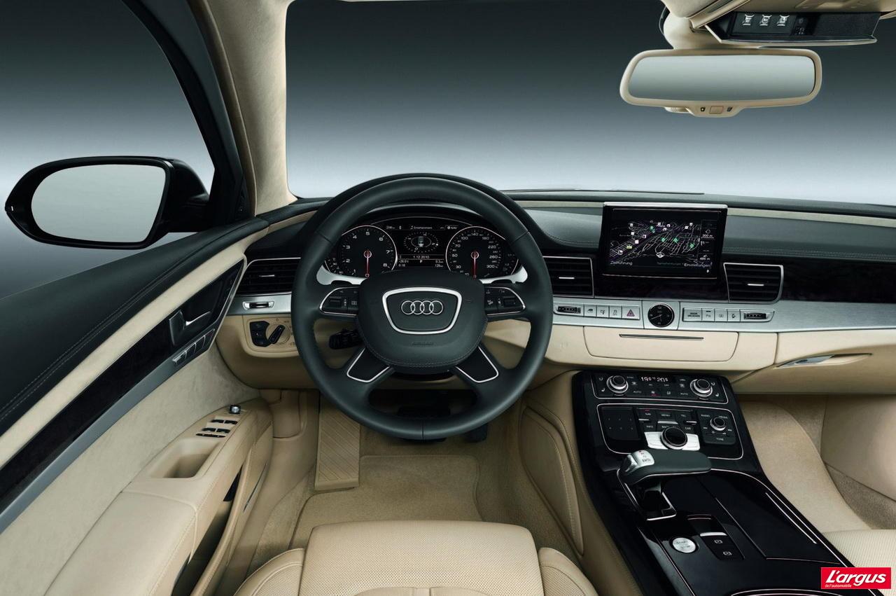 Audi A8 L Security : Voiture pare-balles - Photo #5 - L'argus