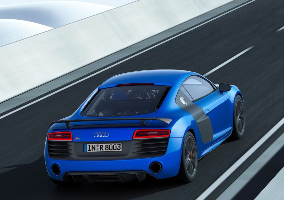 audi r8 lmx 2014 une s rie limit e dot e de feux au laser photo 3 l 39 argus. Black Bedroom Furniture Sets. Home Design Ideas