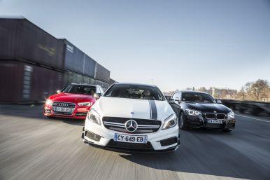 Essai Comparatif Mercedes A45 Amg Vs Audi S3 Sportback