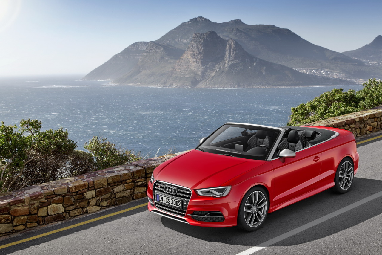 audi a3 cabriolet 300 ch pour l 39 audi s3 cabriolet 2014 salon de gen ve 2014. Black Bedroom Furniture Sets. Home Design Ideas