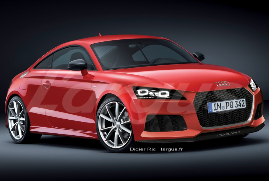 photo audi tt 2014 d couvrez d j l 39 int rieur. Black Bedroom Furniture Sets. Home Design Ideas