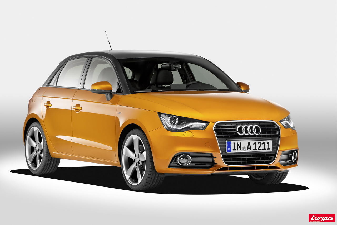audi a1 sportback appellation usurp e photo 2 l 39 argus. Black Bedroom Furniture Sets. Home Design Ideas