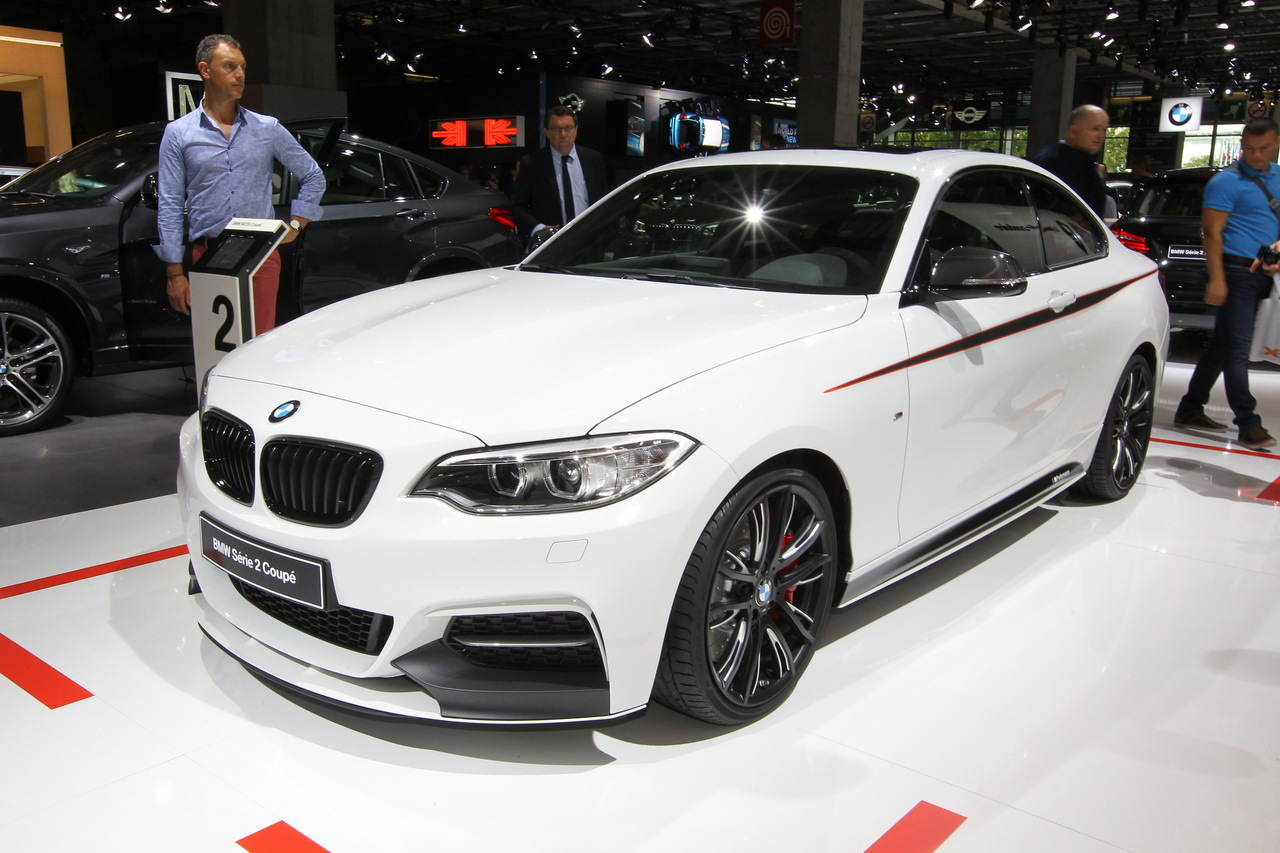 mondial auto 2014 bmw m235i pack m performance l 39 argus. Black Bedroom Furniture Sets. Home Design Ideas
