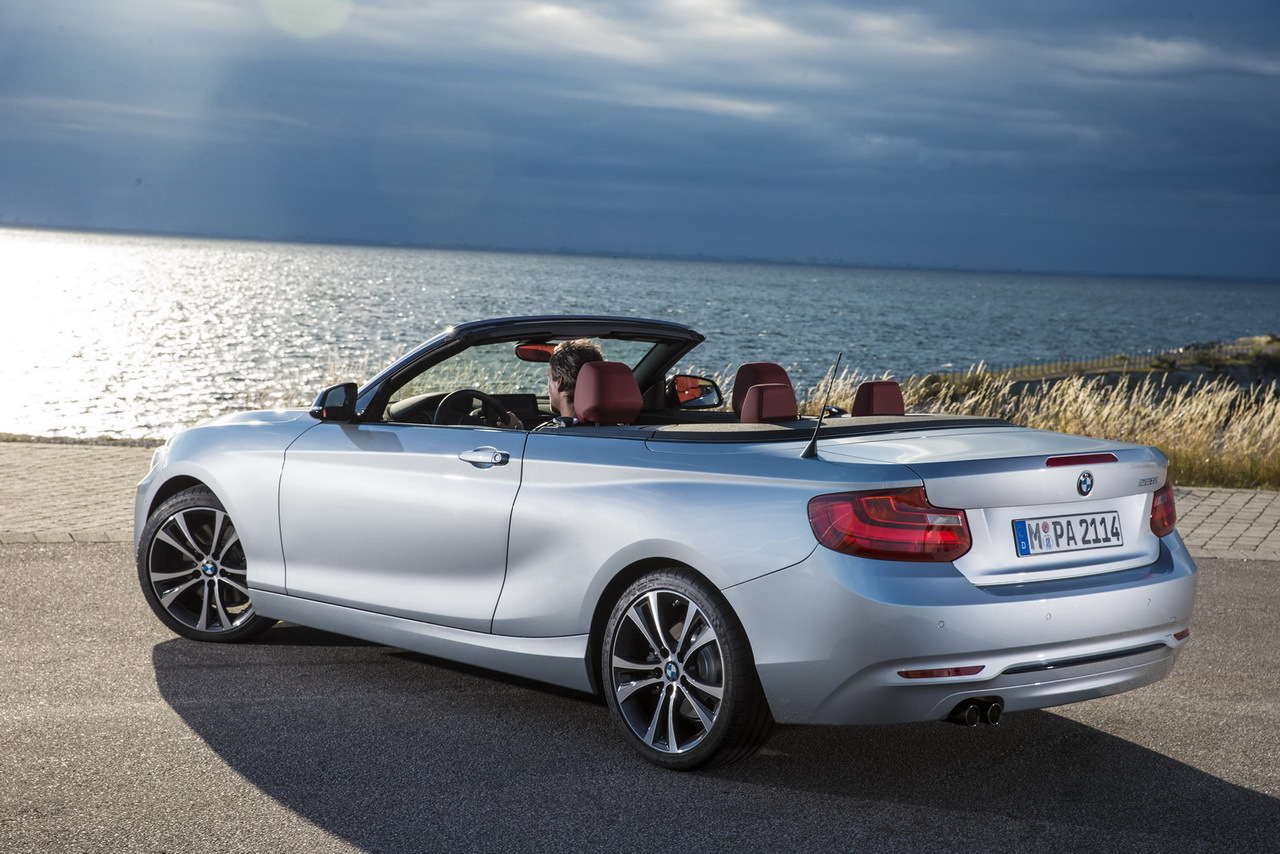prix bmw s rie 2 cabriolet 34 350 euros avec un 3 cylindres l 39 argus. Black Bedroom Furniture Sets. Home Design Ideas
