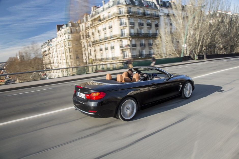 bmw s rie 4 cabriolet 2014 la 428i cc l 39 essai photo 5 l 39 argus. Black Bedroom Furniture Sets. Home Design Ideas