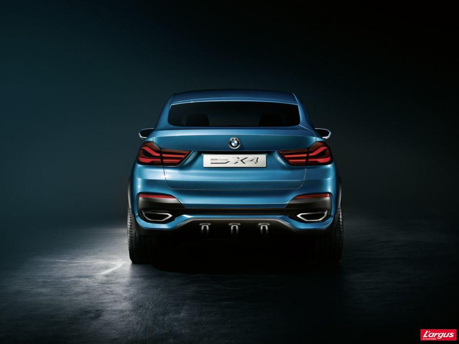 """BMW X4 : voici la version """"coupé"""" du X3 ! - Photo #5 - L'argus"""