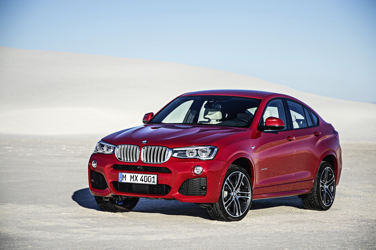 bmw x4 2014 le x3 en tenue de sport l 39 argus. Black Bedroom Furniture Sets. Home Design Ideas