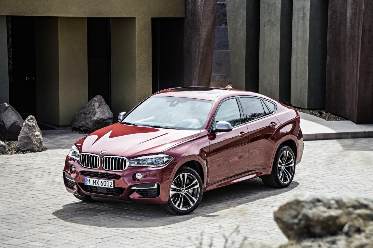 BMW X6 (2014) : photos et prix du nouveau SUV de BMW - L'argus