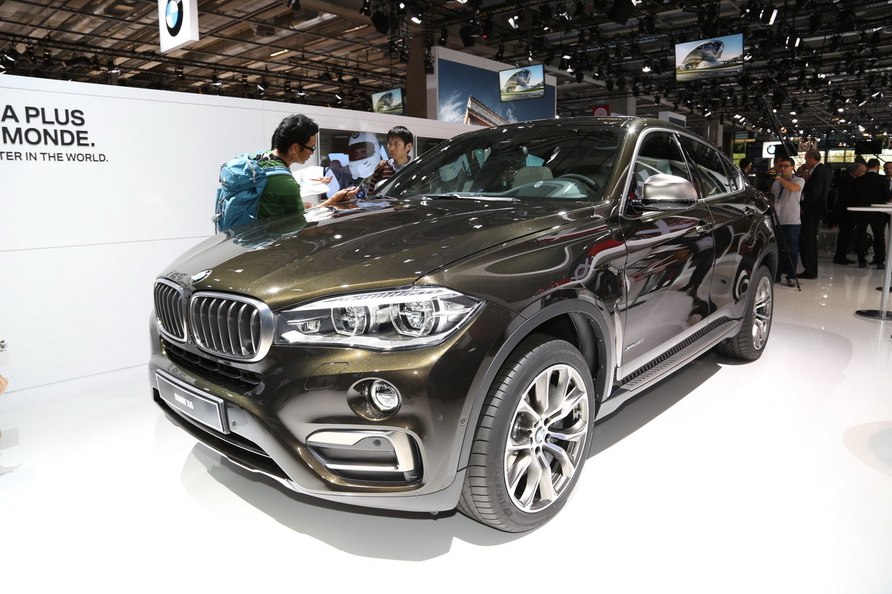 mondial de l 39 automobile 2014 le nouveau bmw x6 en majest l 39 argus. Black Bedroom Furniture Sets. Home Design Ideas