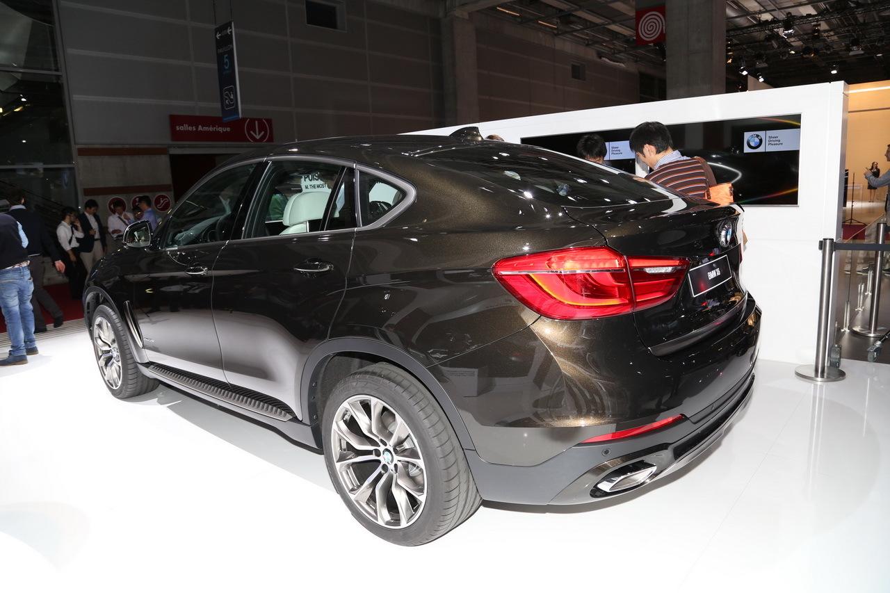 mondial de l 39 automobile 2014 le nouveau bmw x6 en majest photo 4 l 39 argus. Black Bedroom Furniture Sets. Home Design Ideas