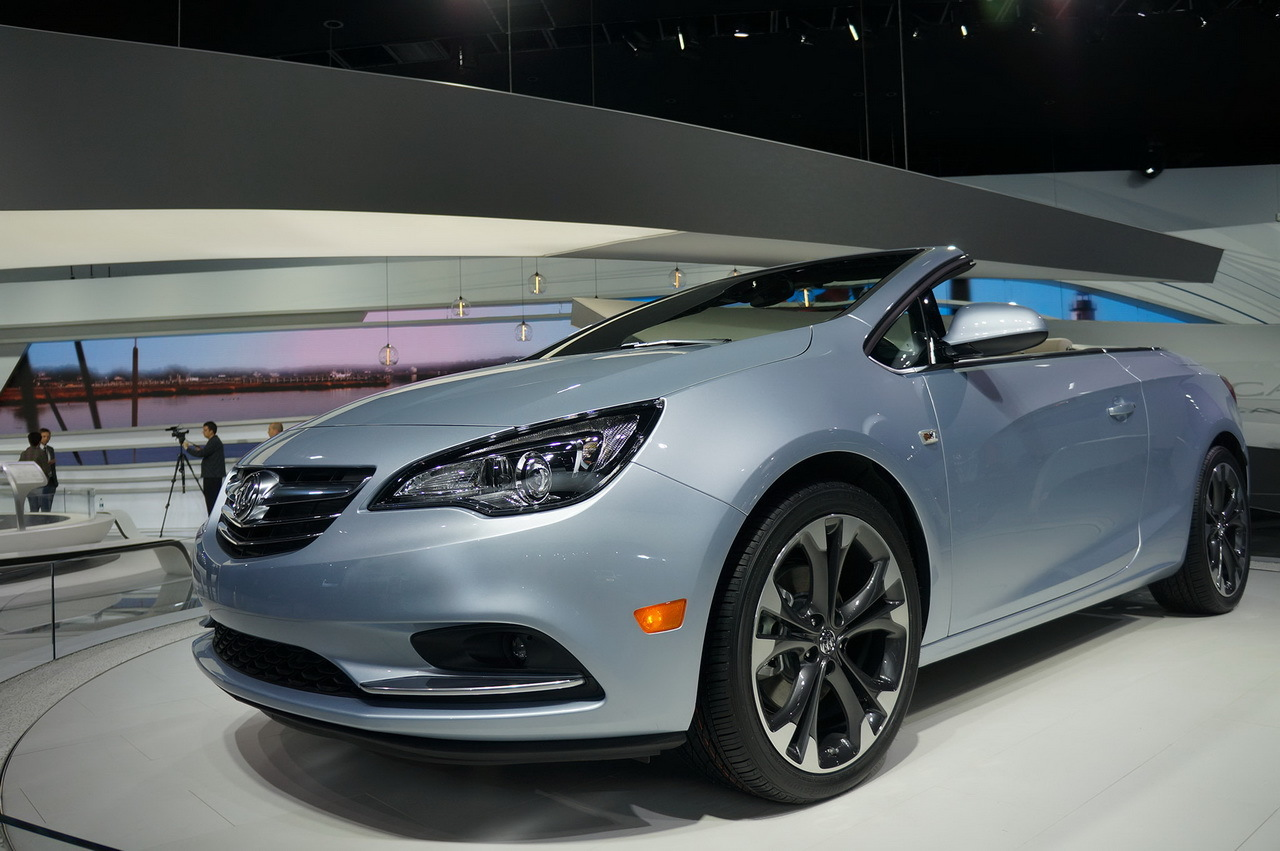 la buick cascada se d voile au salon de detroit 2015 l 39 argus. Black Bedroom Furniture Sets. Home Design Ideas