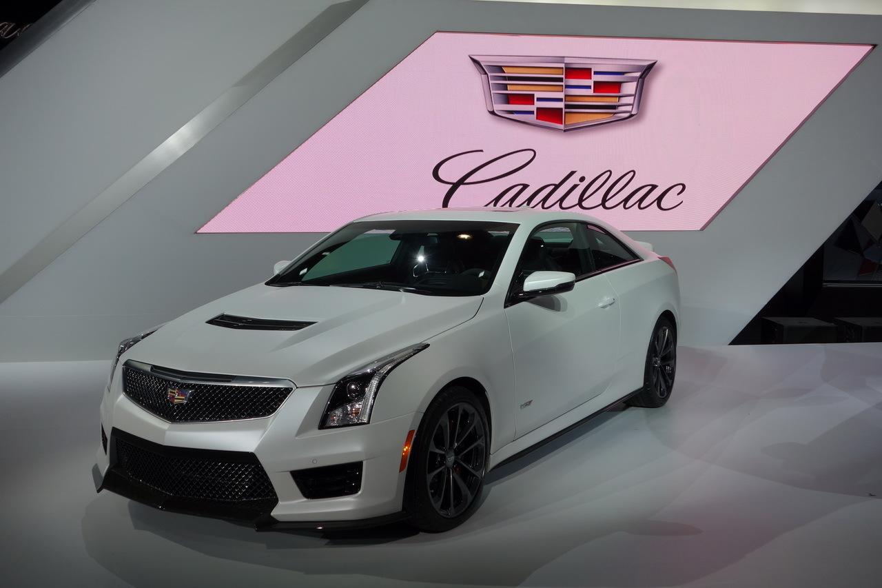 Cadillac Ats V 2015 Vitesse Grand V Pour La Berline Et Le Coup 233 L Argus